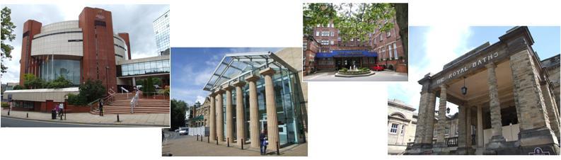 Harrogate centres