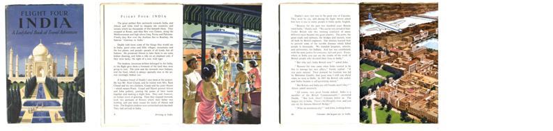 Ladybird book - Flight Tour of India