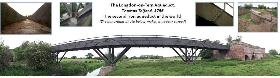 Longden-upon-Tern aqueduct