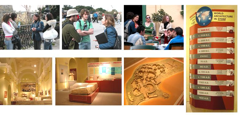 Guides and guests - and archaeology