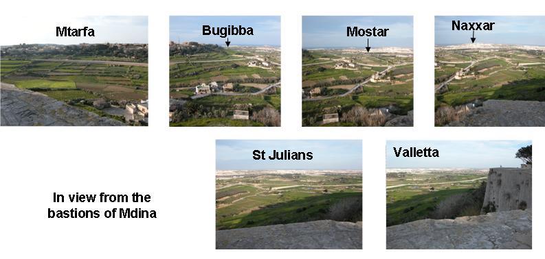 Mdina - panoramic view