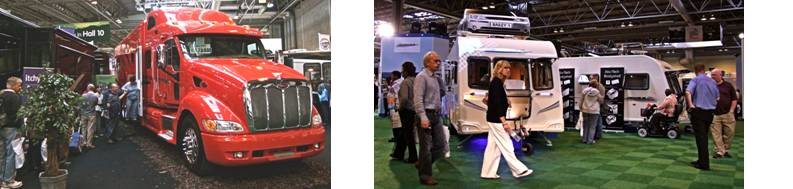 Caravan and Motorhome Show 2009 - NEC