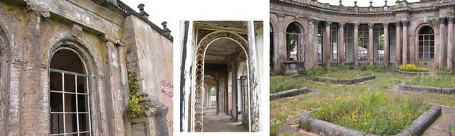 Trentham Gardens Orangery remains