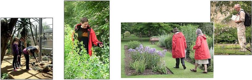 Oxford Botanic Garden - people