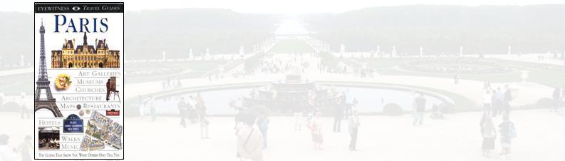 Paris Guide Book - Eyewitness Guide