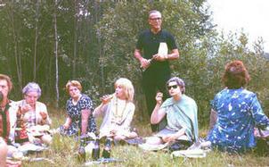 Russian picnic 1964