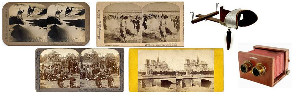 Early stereoscope composite