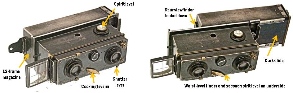 Verascope camera