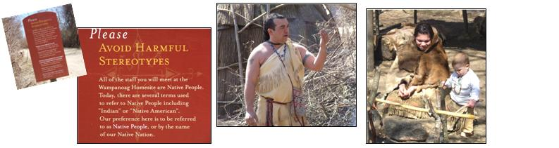 Plimoth Plantation - Wampanoag people