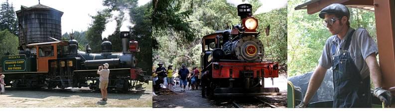 Roaring Camp Railroad composite