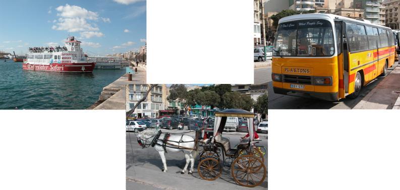 Sliema, Malta - transport