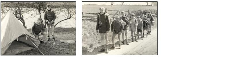 Staffordshire Youth Camp group 1964
