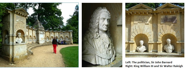 Stowe Gardens - Temple of British Worthies