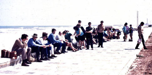 Swansea students in Valencia in 1968