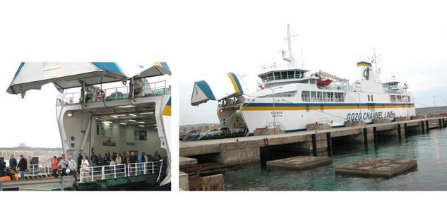The Gozo Ferry