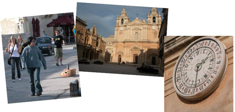 Marsaxlokk to Mdina - time and dates