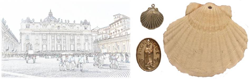 Pilgrim souvenirs composite