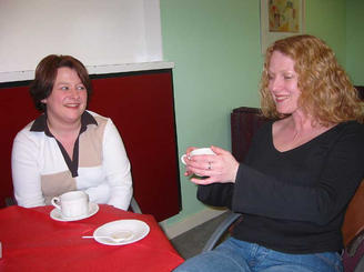 Tracey Burgin and Sally Gregory
