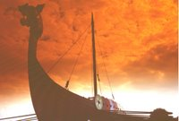 Viking ship reconstruction - Pegwell Bay
