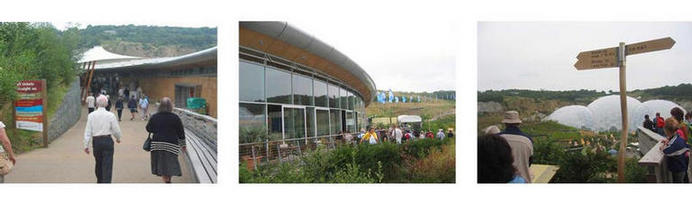 Eden Project Visitor Centre composite
