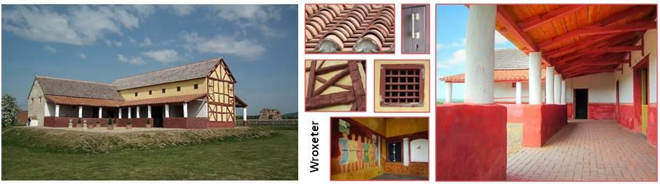 Wroxeter Roman house replica
