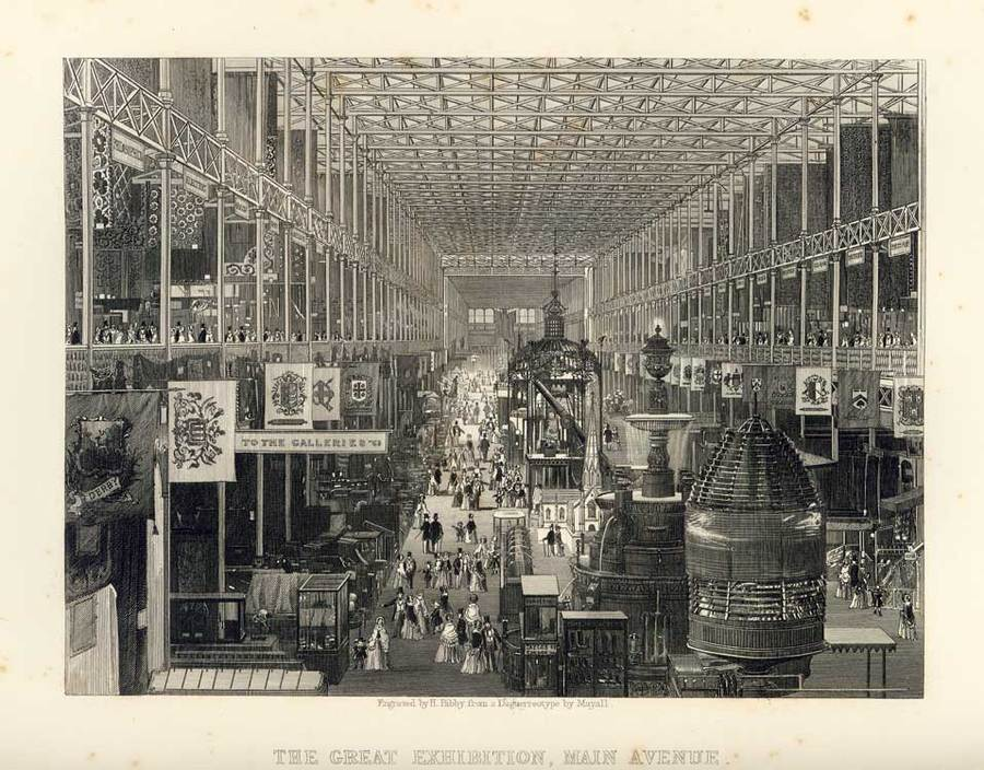 A Mayall Daguerreotype of the Great Exhibition 1851