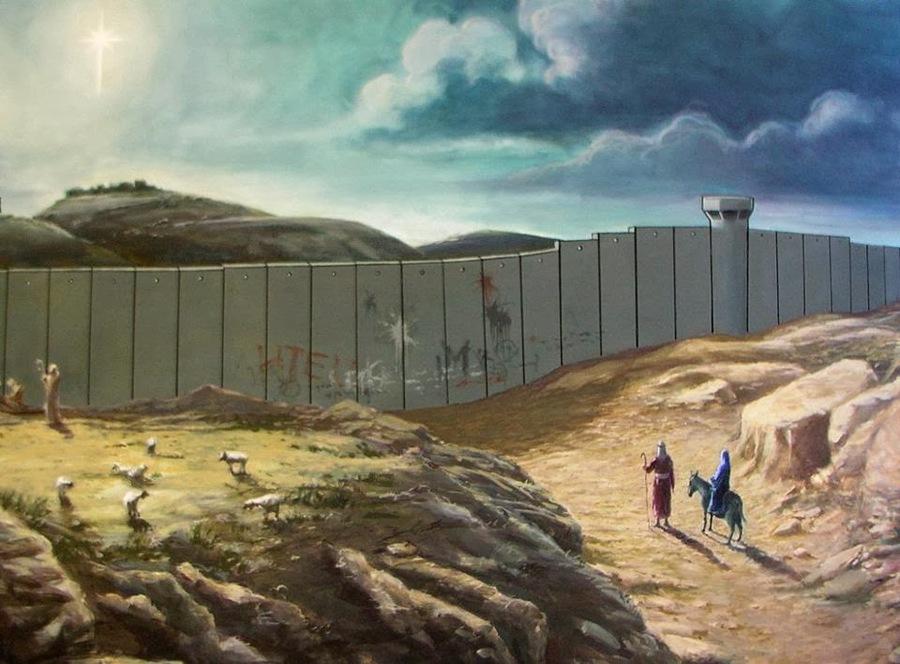 Banksy Chrstmas card