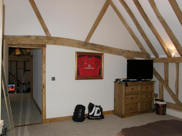 Ryan's bedroom looking east