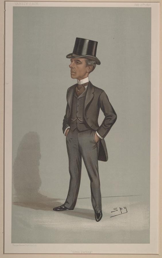 Lord Justice Darling. John Charles Darling (1849-1946) by Spy aka Leslie Ward