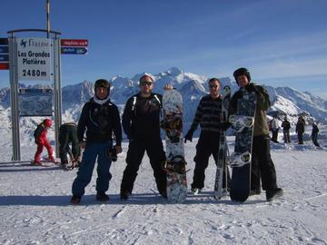 Simon, Jim, Adam, and Si