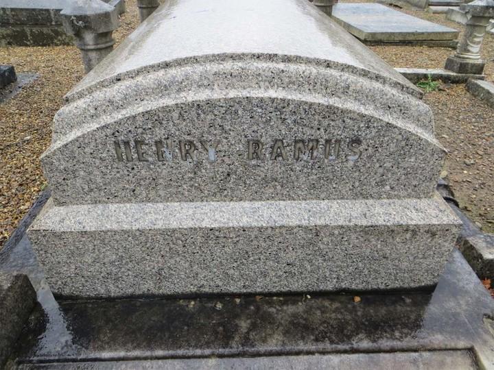 Henry Ramus 14-06-1872 to 20-07-1911