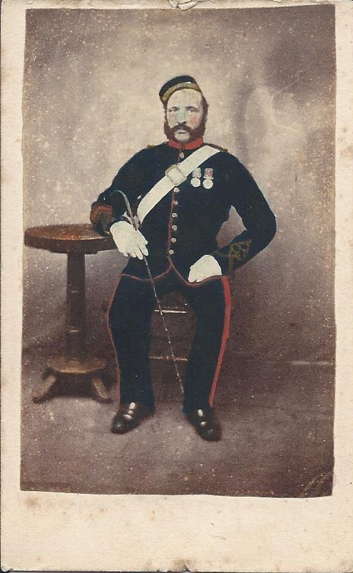 Gunner John Bicknell, circa 1870