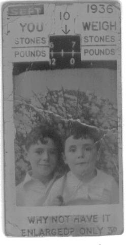 'Johnny and Mike' Squire and Uncle Mike 1936