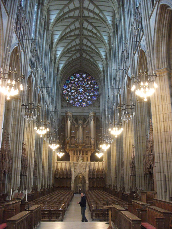 Lancing College chapel, Harry Potter style