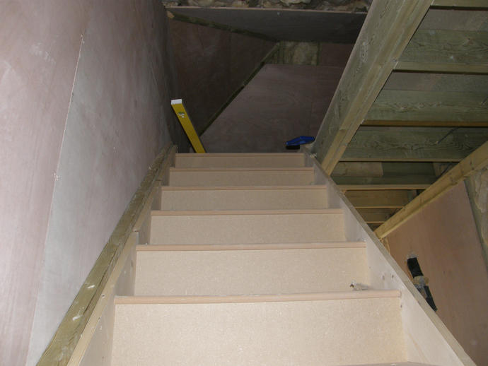 Staircase fitted