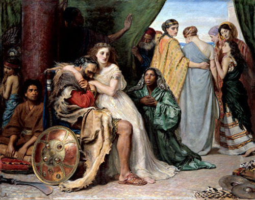 Jephtha's vow,  by John Everett Millais. The picture that captivated a young Bill Sampson on a school trip to Cragside, Northumberland.