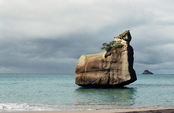 'Hot Water Beach' NZ North Island