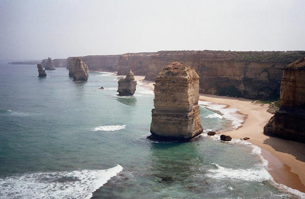 The 'Twelve Apostles',- Great Ocean Road, Oz