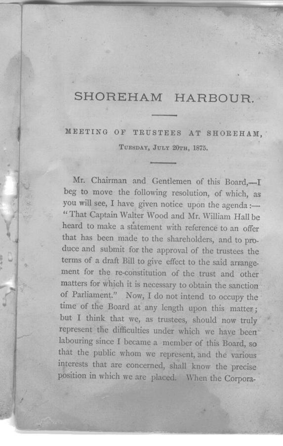Page 3 of the Shoreham Harbour pamphlet