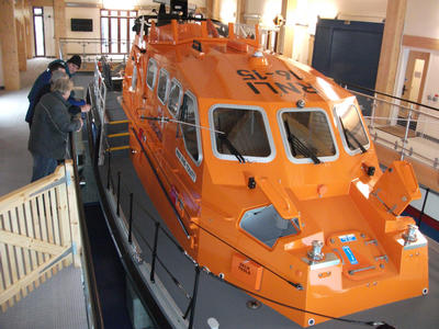 Lifeboat front view
