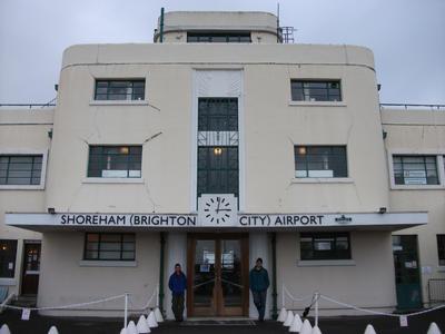 Shoreham airports Art Deco main terminal building