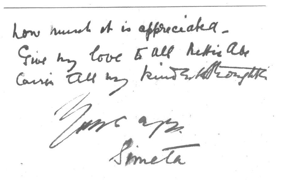 The second part of the letter