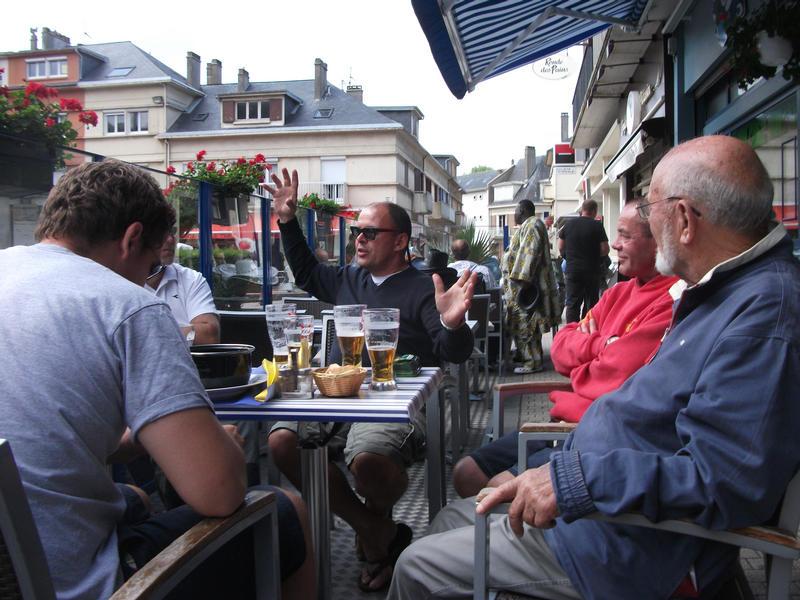 The Devils crew in St Valery en Caux