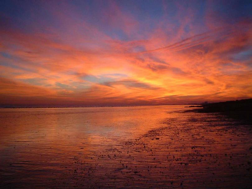 Shoreham Beach Sunset in November