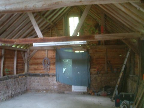 The Granary 'before'