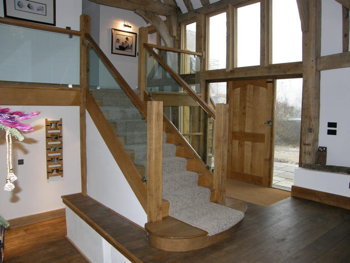 Thakeham Barn interior, 2007