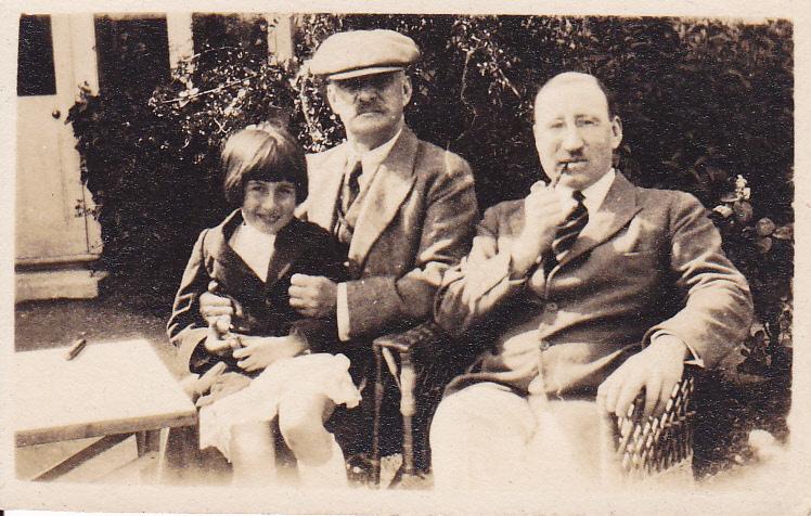 William Walker Sampson, Jack Sampson, and Joan Elizabeth Ann Sampson, circa 1922