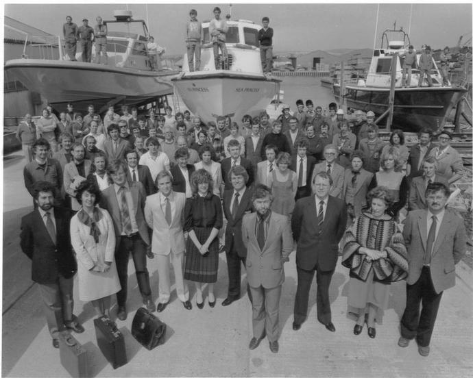 Watercraft LTD. Queens award for export achievement 1982