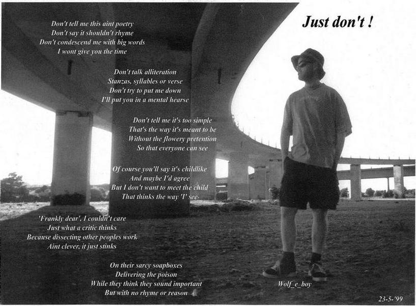 Me, under the Shoreham flyover bridge