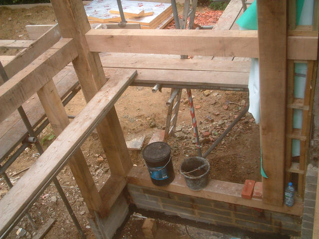 oak work taking shape